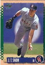 1995 Score J.T. Snow #164 California Angels Baseball Card