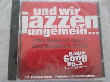 Eric Brodka & Band-e noi jazzen immensa-Radio Gong-CD NUOVO & OVP RARE