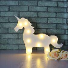 Bombilla de luz de Unicornio