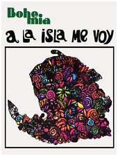 "11x14""Decoration CANVAS.Interior room design art.Isla de Pinos.Cuba.6619"