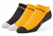 Pittsburgh Steelers NFL '47 Gait Motion Ankle Socks, 3 Pack, Size Large