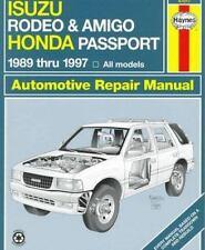 Haynes Automotive Repair Manual: Isuzu Rodeo, Amigo and Honda Passport, 1989-199