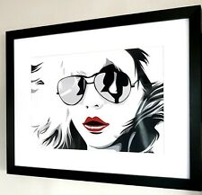 Debbie Harry Blondie-High Quality Photo And Framing Best Quality on Ebay/Pop Art