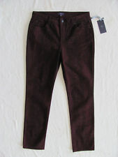 NYDJ Not Your Daughter's Jeans Sheri Skinny Plumberry Python -Size 10 NWT $130