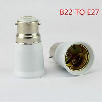 Bayonet BC B22 To ES E27 Screw Light Bulb Lamp Adaptor Fitting Converter Holder