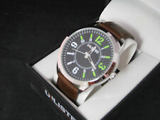 Unlisted by Kenneth Cole  Analog  Leather Band  Watch UL 2671