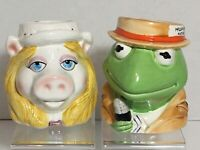 Muppets Kermit the Frog and Miss Piggy Set of 2 Mugs Cups Sigma the Tastesetter