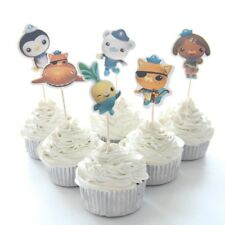 NEW Octonauts Theme Character Cupcake Toppers x 24 - For Parties