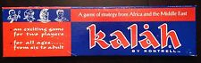 Kaliah - A Game Of Strategy From Africa & Middle East - New & Sealed! - 1963