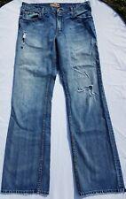 BKE Tyler Size 36 XLong Distressed Men Jeans Buckle Denim Destroyed