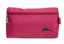 Longchamp Le Pliage Club Cosmetic Case Makeup bag Nylon pouch ~NIP~ Pink