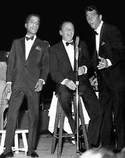 FAMOUS RAT PACK Frank Sinatra, Dean Martin & Sammy Davis 8x10 Photo Print Poster