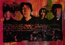 """THE BEATLES"" by Gail Rodgers - One-of-a-Kind Hand-Pulled Silkscreen - Var #2"