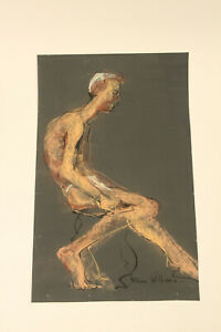 Fran Williams Original Drawing Painting Beautiful Decay Postwar Contemporary Art