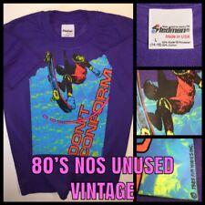 ORIG vTg 80s Skateboarding DONT CONFORM thrasher skateboard Powell nos T-shirt S