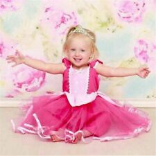 Christmas Kids Cosplay Elsa Dress Infants Girl Sofia Belle Rapunzel Gown