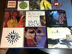 "*Rare* SIMPLE MINDS BUNDLE JOB LOT INCLUDING 3"" INCH CD SINGLES LIMITED EDITIONS"