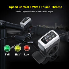 36v Battery Indicator Ebike Electric Bicycle Thumb Throttle Left Right Handle SG