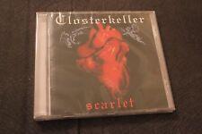 Closterkeller - Scarlet CD NEW SEALED