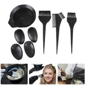 5pcs Hair Coloring Dyeing Kit Color Dye Brush Comb Mixing Bowl Salon Tint T*wf
