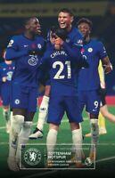 Chelsea v Tottenham Hotspur 2020/21 Premier League programme New Fast Delivery