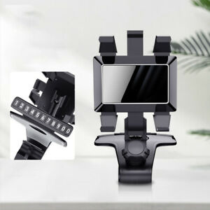 1200° Clip On Dashboard Mobile In Car Phone Holder RACK Mount Stand Cradle NEW