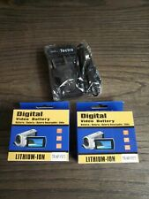 2X Brand New 7200mAh Battery +Charger for Sony NP-F950 NP-F960 NP-F970 Camera US