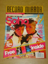 RECORD MIRROR 1991 FEB 16 SOHO 808 STATE JAMES BROWN