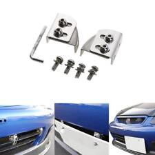 Car Bumper License  License Frame Plate Relocator Bracket Holder Mount Angle