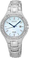Seiko SUT281 Sut281p9 Ladies Solar Watch Swarovski Crystals