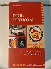 DDR-LEXIKON: Von Trabi, Broiler, Stasi und Republikflucht Broschiert – 16.  N610