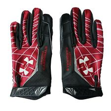 Under Armour Warp Speed Large NFL Football Gloves Arizona Cardinals New in Wrap