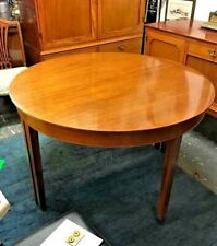 Vintage Danish Dining Table Extendable with 1 leaf