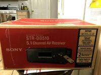 Sony STR-DG510, 5.1 Channel Av Receiver HDMI 100W Home Theater Sound System New