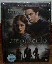 CREPUSCULO EDICION ESPECIAL DIGIBOOK 2 DVD+LIBRO NUEVO PRECINTADO (SIN ABRIR) R2