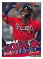 RONALD ACUNA JR. 2020 TOPPS UPDATE TARGET EXCLUSIVE HIGHLIGHTS #TRA-10 BRAVES