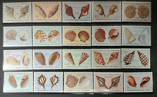 Angola,1974 r. ** Mi. 586-605 muszle Muscheln shells