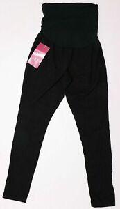 New Women's Maternity Black Yoga Legging BeMaternity NWT Size XS