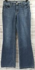 DKNY Jeans Soho Boot Size 04  Boot Cut Denim Distressed Blue Jeans Womens Used..
