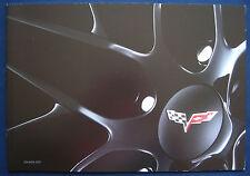 Prospekt brochure 2011 Chevrolet Chevy Corvette (USA)