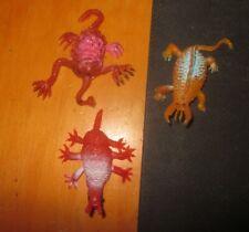 Vintage rubber Jiggler monster Slurfy Variants Slurfies lot of 3