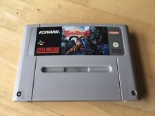 Castlevania IV Snes Game! Cart Only! Look In The Shop!