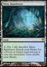 Misty Rainforest // FOIL // Presque comme neuf // Zendikar // Engl. // Magic the Gathering