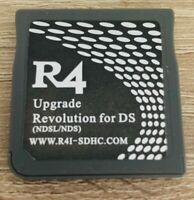 CARTUCHO R4 REVOLUTION DE NINTENDO DS DSi NDS Incluye micro SD 2GB para juegos
