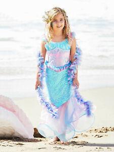 Magical Mermaid Costume For Girls CHASING FIREFLIES, 4 (XS)
