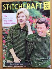 Vintage Stitchcraft Magazine. November 1960