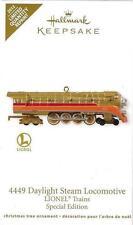 Hallmark 2012 Lionel 4449 Daylight Steam Locomotive MIB Special Limited Editio