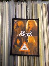 POISON PATCH Original 80er Vintage Aufnäher 8x11cm Sleaze Hard Rock Glam