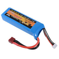 High Power 3S 11.1V 2200mAh 35C Lipo Battery Pack w/ Deans Connector Plug RC1091