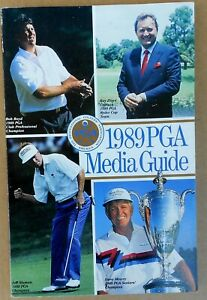 GOLF 1989 PGA  OFFICIAL MEDIA GUIDE FREE SHIPPING